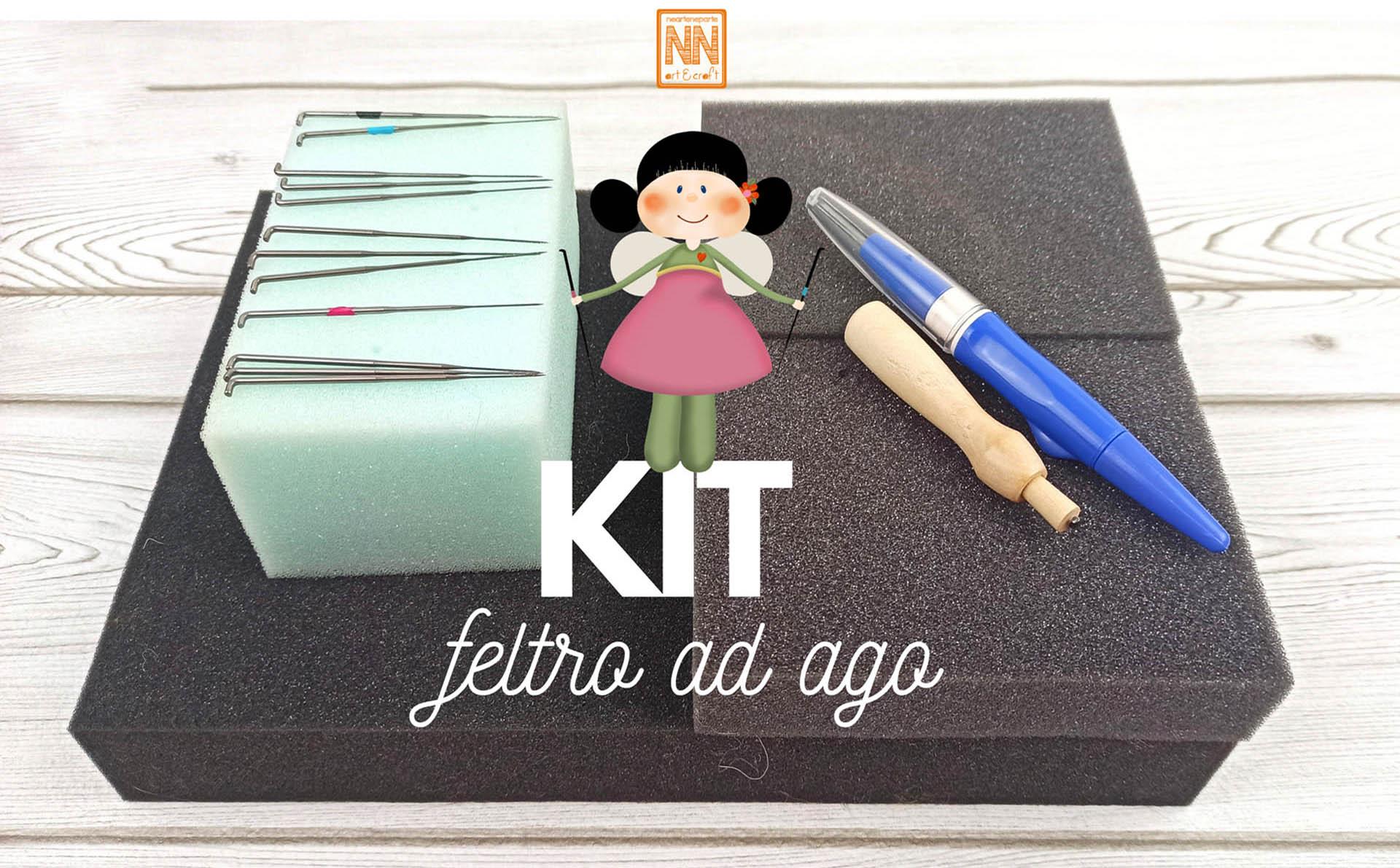 Kit strumenti base – Feltro ad ago